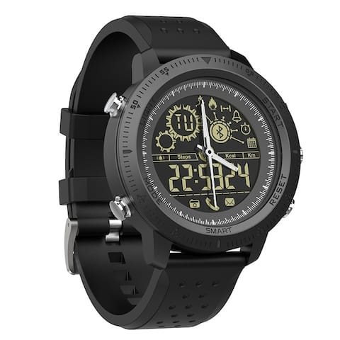 Coutlet Bluetooth for Men Outdoor Sports Pedometer Digital Watch