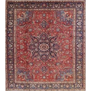 "Antique Bakhtiari Floral Handmade Wool Persian Large Area Rug - 14'4"" x 11'6"""