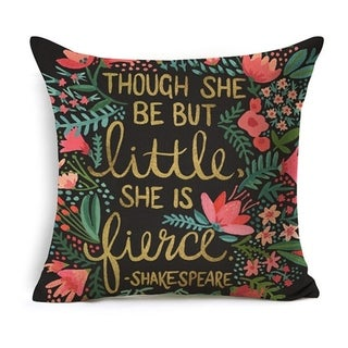 Throw Pillow Covers Cotton Linen Cushion Cover
