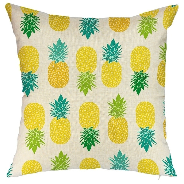 Pineapple Decorative Throw Pillowcases