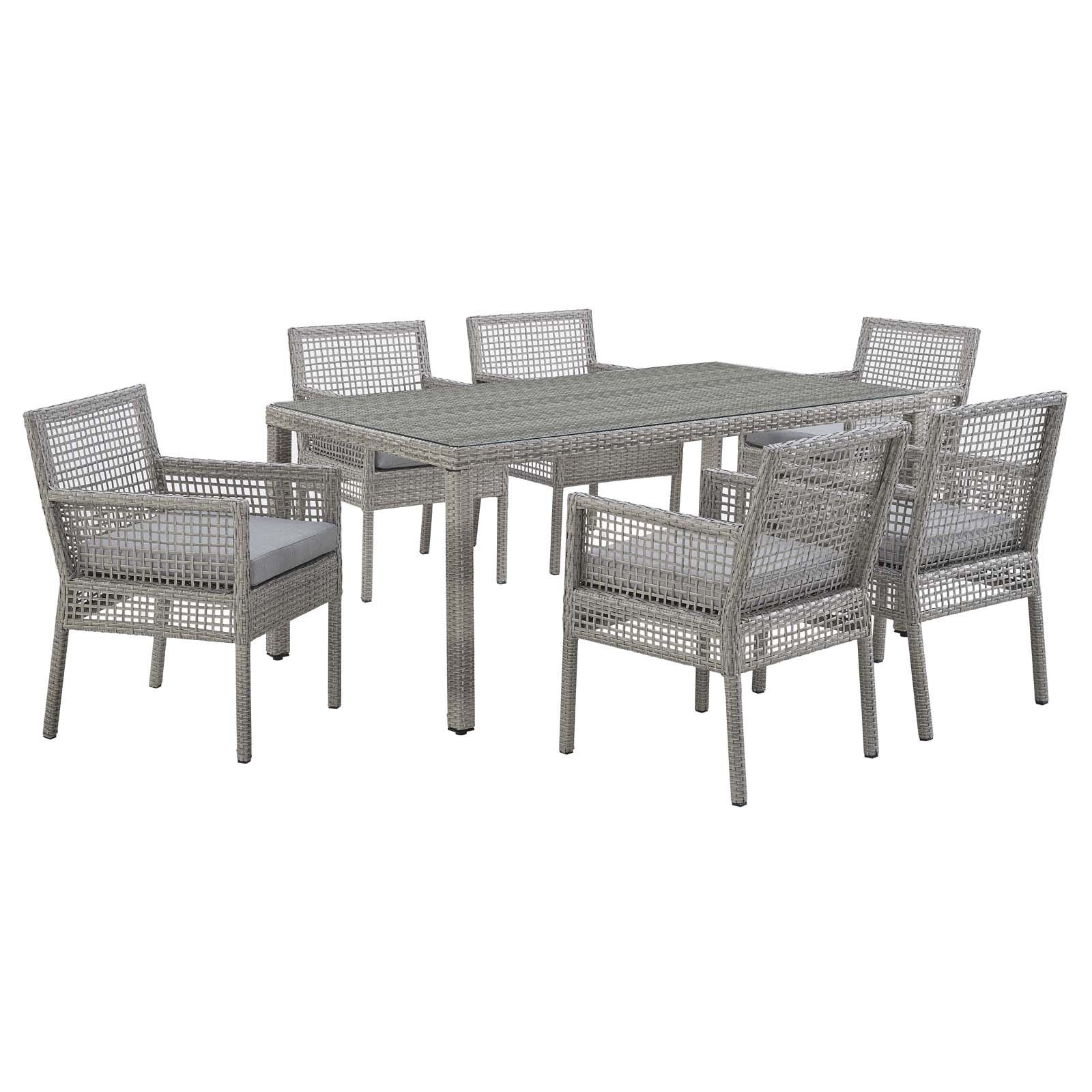 Buy size 7 piece sets outdoor dining sets online at overstock our best patio furniture deals