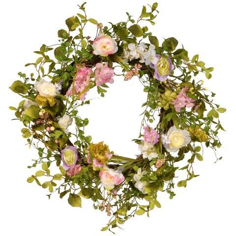 24-inch Spring Wreath