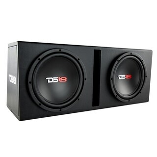 """DS18 BPX210A 1200 Watts Complete Bass Package with Double 10"""" Sub MDF Enclosure"""