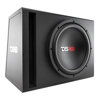 "DS18 BPX112A 650 Watts Complete Bass Package with 12"" Sub MDF Enclosure"