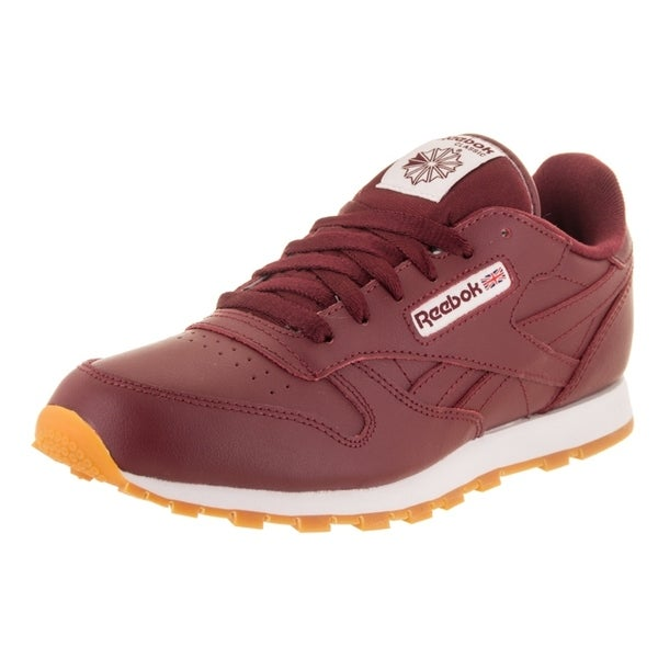 Shop Reebok Kids Classic Leather Gum Casual Shoe - Free Shipping On ... cd49f3b0ae4c