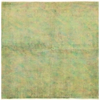 eCarpetGallery  Hand-Knotted Color Transition Light Green Wool Rug - 6'0 x 6'0