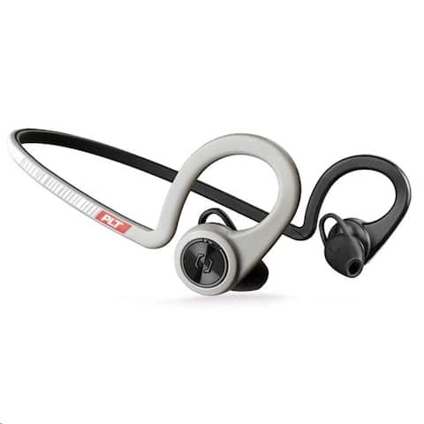 Plantronics Backbeat Fit Wireless Bluetooth Headphones Sport Grey