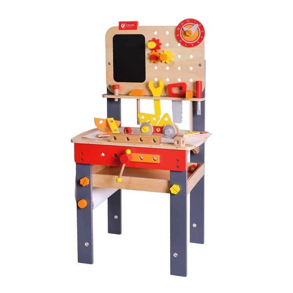 Carpenter Workbench with Tools