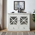 Jackson Accent Cabinet In White