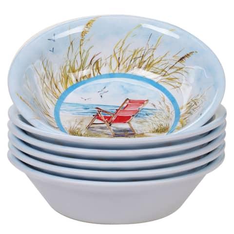 Certified International Ocean View All Purpose Bowls, Set of 6