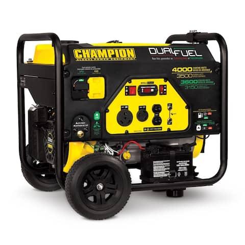 Champion Power Equipment 3500-Watt Dual Fuel Portable Generator
