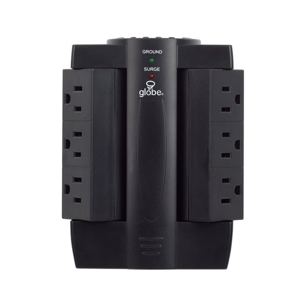 6-Outlet Swivel Surge Protector Wall Tap. Opens flyout.