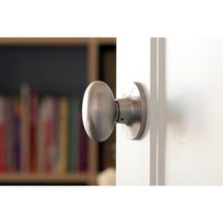 Sure-Loc Egg-shaped Passage Door Knob Pair (2 complete sets)