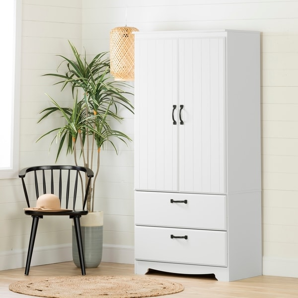South Shore Farnel Wardrobe Armoire. Opens flyout.