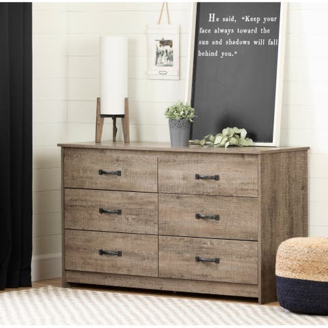 South Shore Tassio 6-Drawer Double Dresser