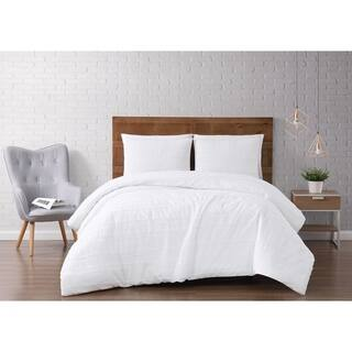 Silver Orchid Christopherson Stripe 3-piece Comforter Set