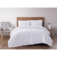 The Curated Nomad Barbary Tufted Chenille 3-piece Comforter Set