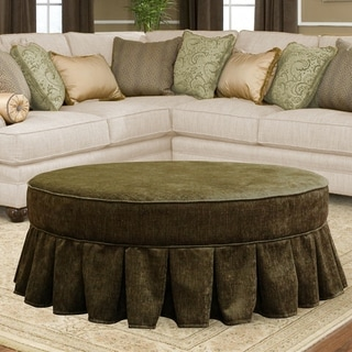 Shop Jennifer Taylor Yolanda Decorative Round Ottoman On