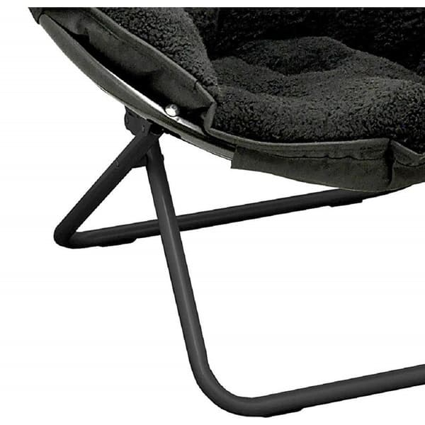 Fantastic Shop Sherpa Saucer Chair On Sale Free Shipping Today Pabps2019 Chair Design Images Pabps2019Com