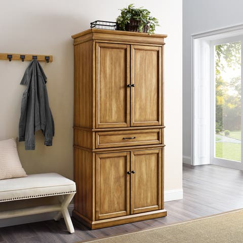 Parsons Pantry In Natural Finish