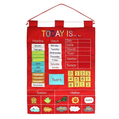 Alma's Designs Wall Hanging Today Is Red