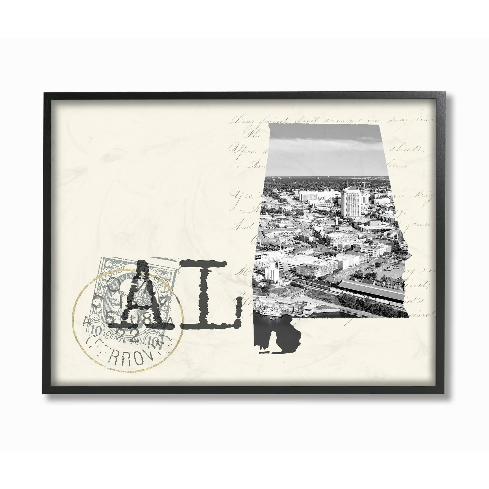 Details about the stupell home decor alabama black and white photograph framed art 11 x 14