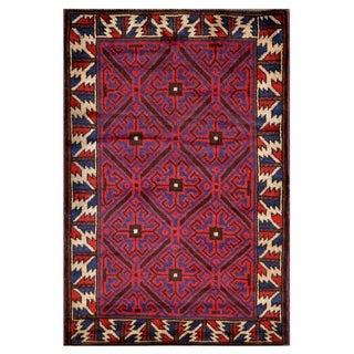 Handmade Balouchi Wool Rug (Afghanistan) - 3'1 x 4'7
