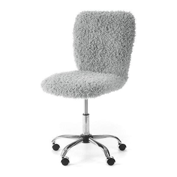 Shop Faux Fur Task Chair
