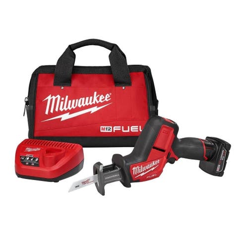Milwaukee M12 FUEL 12V HACKZALL Saw Kit