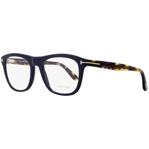 190152b5b47 Tom Ford TF5480 090 Mens Navy Blue Havana 56 mm Eyeglasses - Navy Blue