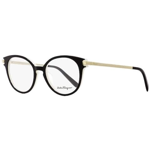 Salvatore Ferragamo SF2764 963 Womens Black/Ice/Gold 51 mm Eyeglasses