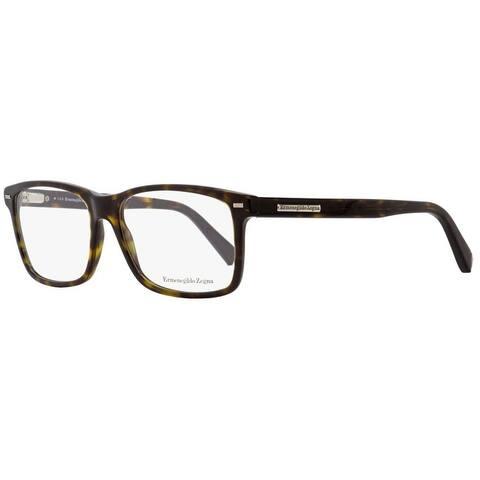 Ermenegildo Zegna EZ5002 053 Mens Blonde Havana 57 mm Eyeglasses - Blonde Havana
