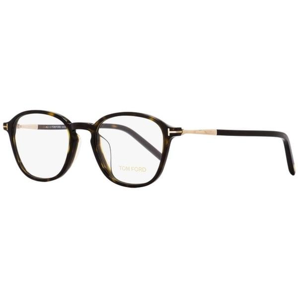 1bf0cb86db9f Shop Tom Ford TF5397F 052 Mens Dark Havana Gold 52 mm Eyeglasses - Dark  Havana Gold - Free Shipping Today - Overstock - 26886979