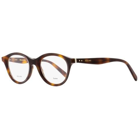 Celine CL41464 086 Unisex Dark Havana 46 mm Eyeglasses - Dark Havana