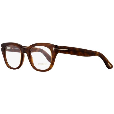 d7a26ada3d Tom Ford TF5473 053 Womens Blonde Havana/Gold 49 mm Eyeglasses - Blonde  Havana/