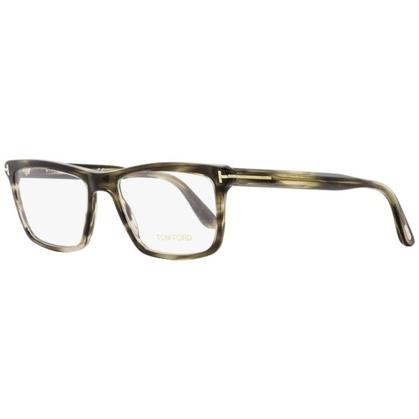 3abc82efd9e1 Shop Tom Ford TF5407 005 Mens Gray Melange 54 mm Eyeglasses - Gray Melange  - Free Shipping Today - Overstock - 26886990