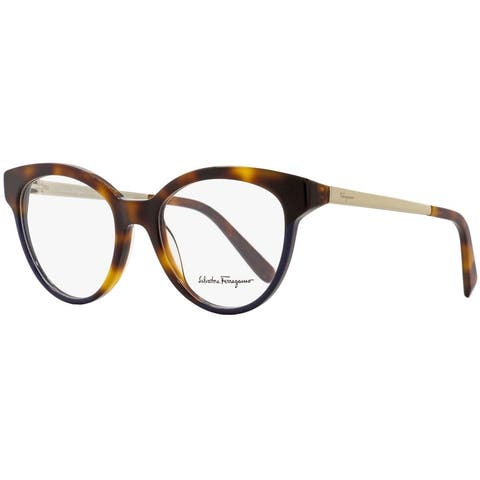 Salvatore Ferragamo SF2784 259 Womens Havana/Blue 53 mm Eyeglasses
