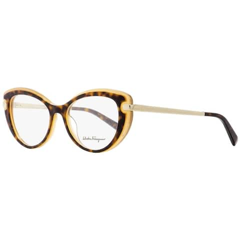 Salvatore Ferragamo SF2755 245 Womens Havana/Honey 51 mm Eyeglasses