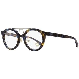 MCM MCM2642 235 Unisex Havana Blue/Palladium 49 mm Eyeglasses - Havana Blue/Palladium