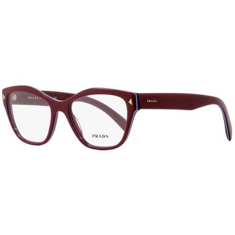 Prada VPR27S UF9-1O1 Womens Amaranth/Azure 53 mm Eyeglasses
