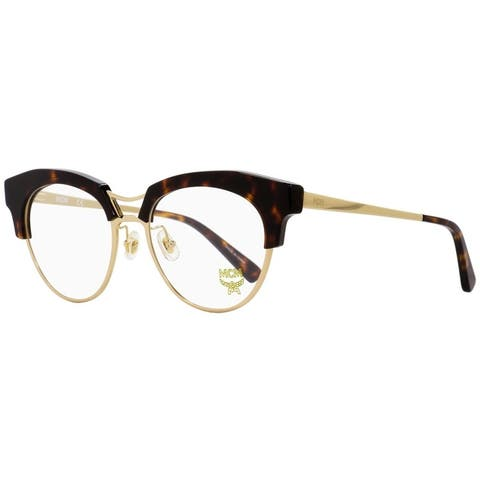 MCM MCM2106 214 Womens Gold /Havana 52 mm Eyeglasses - Gold /Havana