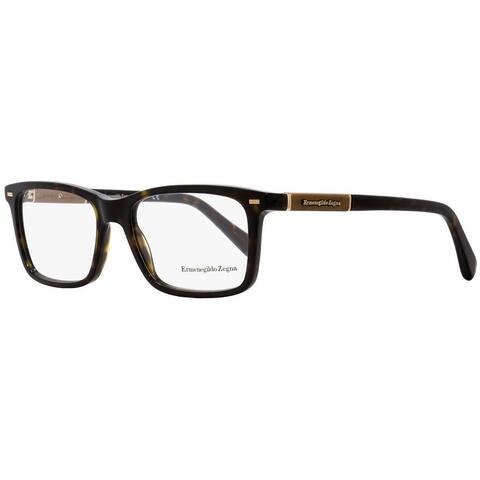 Ermenegildo Zegna EZ5037 052 Mens Dark Havana 54 mm Eyeglasses - Dark Havana