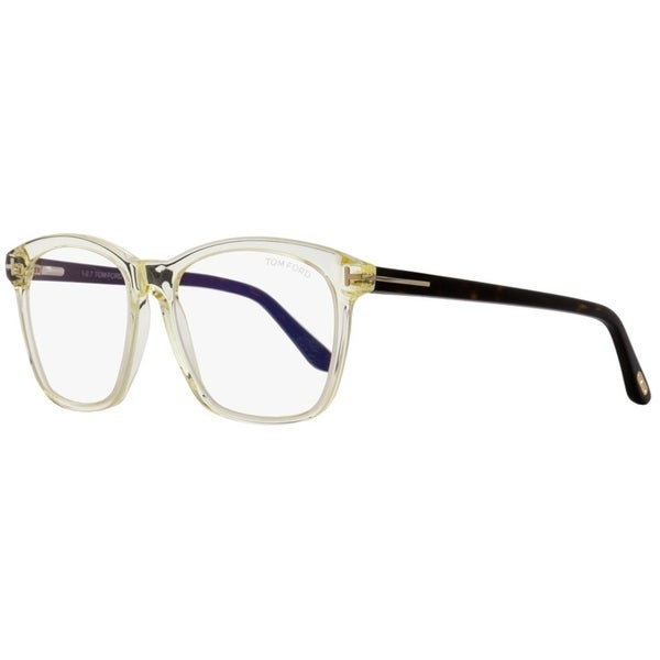 31b9949a78 Shop Tom Ford TF5481B 039 Womens Transparent Opal Havana 54 mm Eyeglasses -  Transparent Opal Havana - Free Shipping Today - Overstock - 26887023