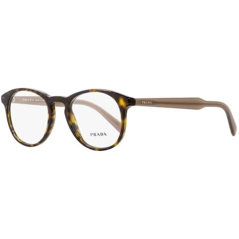 Prada PR 19SV 2AU1O1 50 Havana Man Phantos Eyeglasses