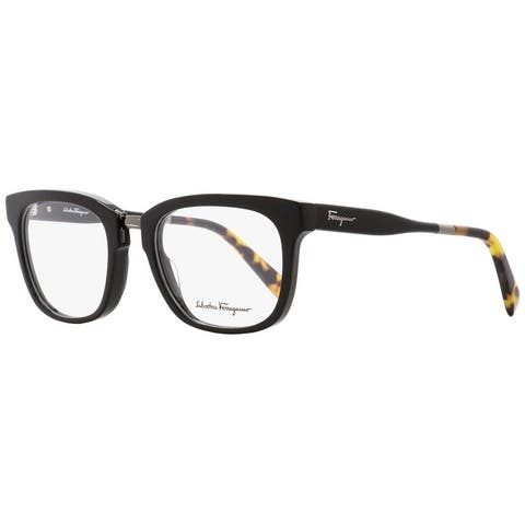 Salvatore Ferragamo SF2785 006 Mens Shiny Black/Havana 53 mm Eyeglasses - Shiny Black/Havana