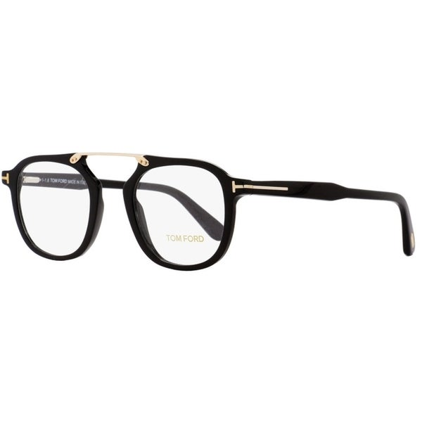 368bdd1c5b94 Shop Tom Ford TF5495 001 Mens Black Gold 48 mm Eyeglasses - Free ...