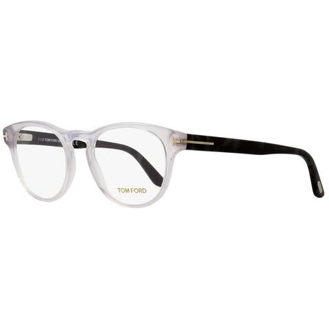 61051a2bf703 Tom Ford TF5426 020 Mens Transparent Gray Gray Havana 49 mm Eyeglasses -  Transparent Gray