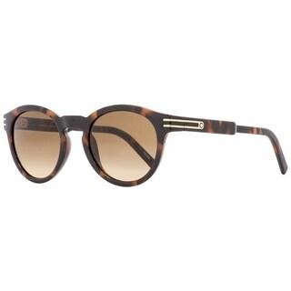 Montblanc MB642S 52F Mens Dark Havana 51 mm Sunglasses - Dark Havana