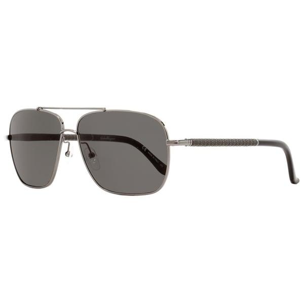 53036fc00810f Salvatore Ferragamo SF145SL 015 Mens Gunmetal Black 59 mm Sunglasses