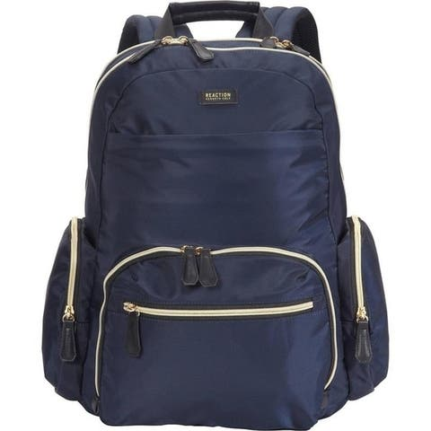 Kenneth Cole Reaction 'Sophie' Silky Nylon 15-inch Laptop & Tablet RFID Travel Backpack
